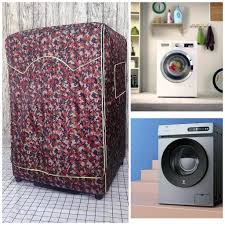 CỠ LỚN] Vỏ Bọc trùm máy giặt cửa ngang chống thấm cao cấp loại 1 dành cho Máy  giặt Electrolux Inverter 9 Kg EWF9025BQSA chính hãng 180,000đ