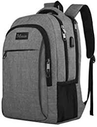 Travel Laptop Backpack,Business Anti Theft Slim Durable Laptops Backpack  with USB Charging Port,