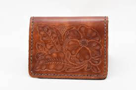 traditional leather wallet