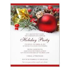 Corporate Holiday Party Invite Corporate Holiday Party Invitation