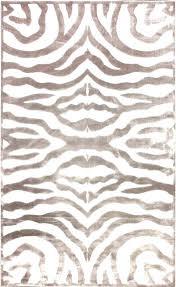 zebra print rug zebra print rugs brown area rug 5 off when you share velvet cream