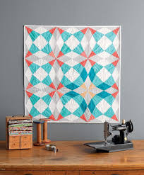 PHOTOS: Thoroughly Modern Quilters Update Traditional Patterns | WUWM & Cut Glass Baby quilt Adamdwight.com