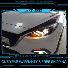 Mazda 3 Radio Lights Not Working Us 49 2 18 Off Akd Tuning Cars Headlight For Mazda 3 Axela 2014 2016 Mustang Headlights Led Drl Running Lights Bi Xenon Beam Fog Angel Eyes In Car