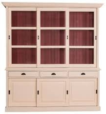 Casa Padrino Country Style Kitchen Cabinet Antique Cream Red 206 X