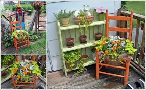 creative recycled furniture. cool and creative recycled furniture planter ideas 2