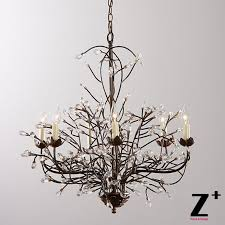 awesome tree branch chandelier lighting tree branch chandelier 6 arm aged brass finish country style tree