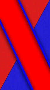 Blue and Red Abstract Wallpaper ...