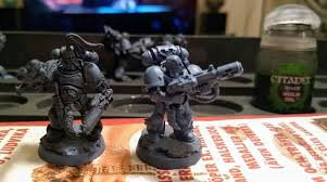 Space Wolves Colour Chart Painting Space Wolves Recommended Techniques For Best