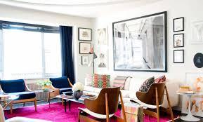 fuschia furniture. Home Design And Decor , Small Apartment Ideas : With Framed Wall Fuschia Furniture O