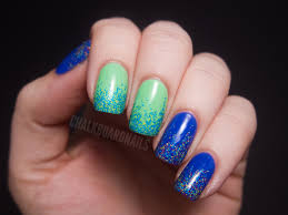 2 color nail art - how you can do it at home. Pictures designs: 2 ...