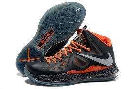 lebron shoes iron man. lebron 10 bhm black history month orange basketball shoes iron man