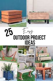 easy diy outdoor projects for