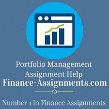 portfolio management homework help finance assignment help portfolio management assignment help