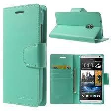 HTC Desire 700 Cyan Sonata Wallet Case
