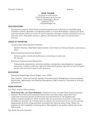 Resume Template Retired Military Resume Examples Free Resume
