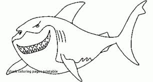 29 Lovely Great White Shark Coloring Pages Ideas