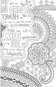Coloring Pages Bible Verses Cool Gallery Printable Christian