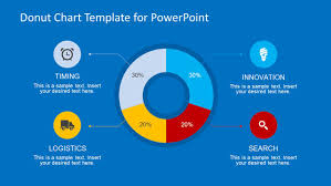 Powerpoint Chart Templates Donut Chart Template Design For Powerpoint