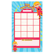 Amazon Com Dry Erase Reward Responsibility Chart For Kids