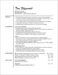 Free Sample Professional Resume Template Templates – Agoodmorning.co