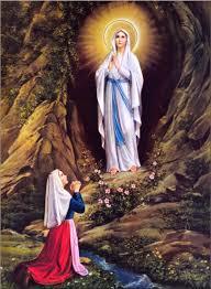 Afbeeldingsresultaat voor verschijning van OLV aan Bernadette te LOurdes