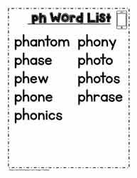 6 free worksheets to understand and practice digraph sounds ch sh th ph wh. Ph Digraph Activities Worksheets