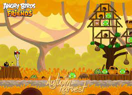 Angry Birds fall autumn angry birds friends autumn harvest | Angry birds,  Birds, Fall gif