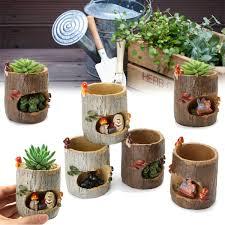 office flower pots. Image Is Loading Lovely-Resin-Plant-Succulent-Flower-Pot-Many-Cartoon- Office Flower Pots