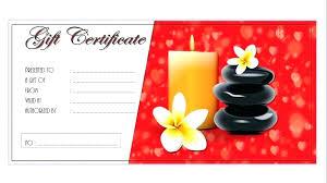 Facial Gift Certificate Template Boski Mattaustinimages Co