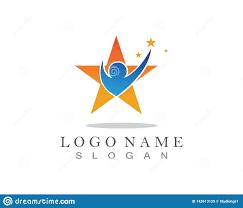 Logos With Stars Stars Logos People And Symbols Success Stock Vector