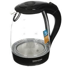 <b>Чайник</b> электрический стеклянный <b>Redmond RK</b>-<b>G161</b>, 1.7 л, 2.2 ...