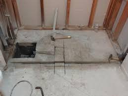 zero clearance shower drain