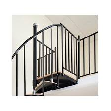 The Iron Shop Houston 1.75-ft Black Painted Wrought Iron Stair Railing Kit