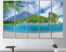 beach large wall art canvas print tropical island beach ocean view extra large art canvas beach on extra large ocean wall art with abstract canvas art ocean canvas art abstract canvas wall art