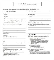 Sample Profit Sharing Agreement. Profit Sharing Agreement Template ...