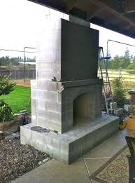 prefabricated outdoor fireplace kits masonry mason lite fireplaces prefab