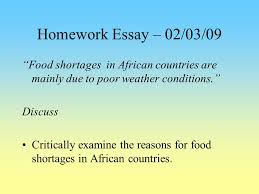 the politics of development in africa ppt homework essay 02 03 09 food shortages in african countries are mainly due