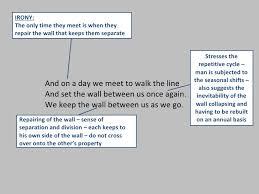 wall essay mending wall essay