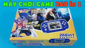 Mở Hộp Máy Chơi Game Cầm Tay HKB 505 - Có Sẵn 268 Trò Chơi