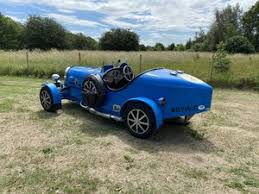 He owns quite a few of them, including a type 37 that's worth a lot of money. 1976 Bugatti Type 35 Replica For Sale Car And Classic