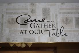 in our kitchen quote dining room vinyl