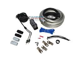 raptor r5ak0 pro series 3800 watts 1 0 gauge amplifier install kit w rca