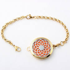 10pcs silver tree aromatherapy essential oils diffuser locket bracelet stainless steel 30mm locket leather bracelet