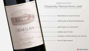 Traditional Wine Label Design Design Great Custom Wine Labels With These Tips Wine Folly