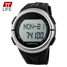 kupuj online wyprzedażowe mens watch ratings od chińskich mens ttlife mens zegarki cyfrowe 5atm wodoodporny 3d krokomierz tętno akryl dial mężczyźni przebiegu sport zegarki na