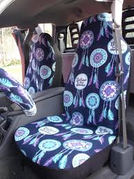 Dream Catcher Seat Covers 100 Set of Dream catcher Print Seat Cover and Steering Wheel 2