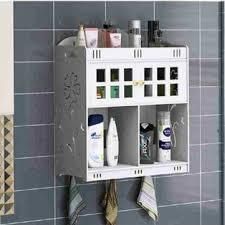 bathroom cosmetics storage hanging on