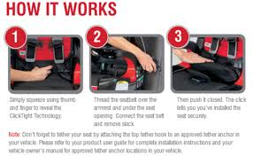 check out the new car seat from britax in action