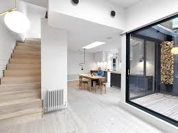 architecture houses interior. Interesting Architecture Black U0026 White Mews By Threefold Architects With Architecture Houses Interior N
