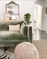 14 beautiful sage green velvet sofa